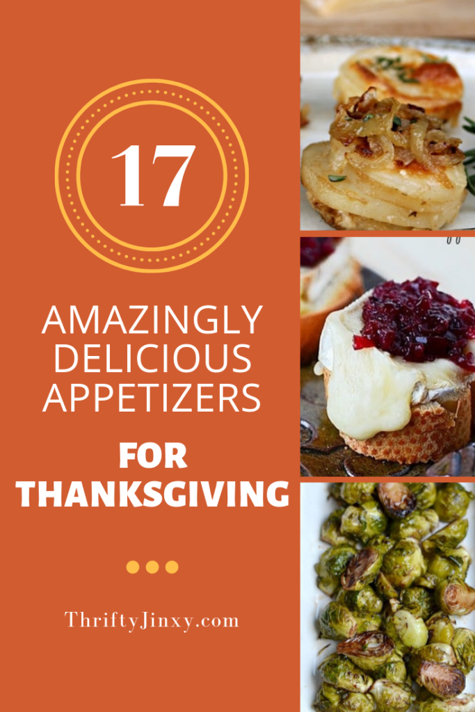 17 Thanksgiving Appetizers