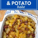 Cheesy Sausage Potato Bake (1)