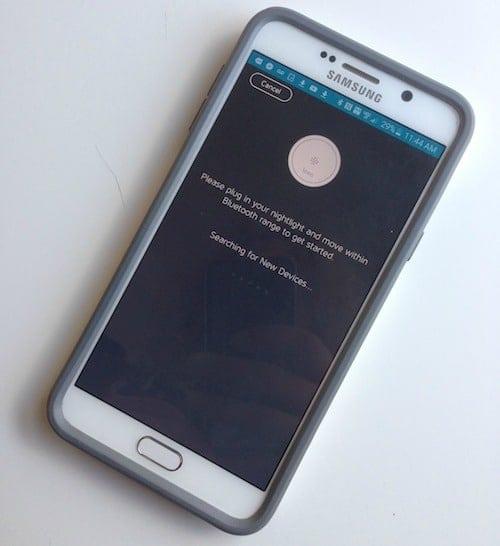 Leeo App on Smartphone
