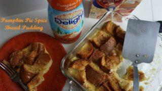 Pumpkin Pie Spice Bread Pudding Recipe