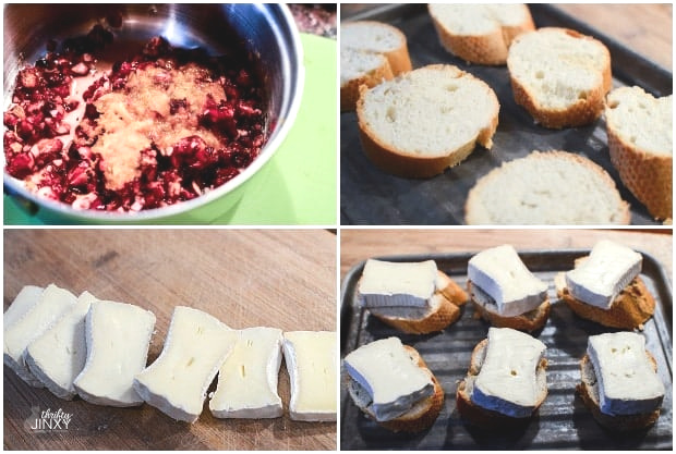 Cranberry Compote with Brie Appetizer Recipe Ingredients