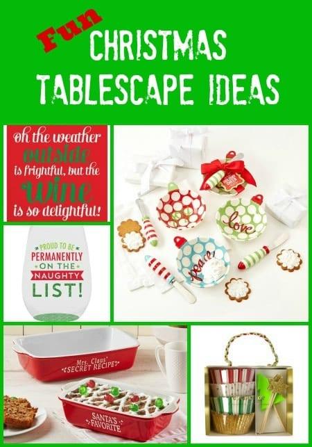 Fun Christmas Tablescape Ideas
