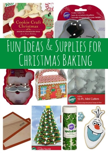 Fun Ideas and Supplies for Christmas Baking