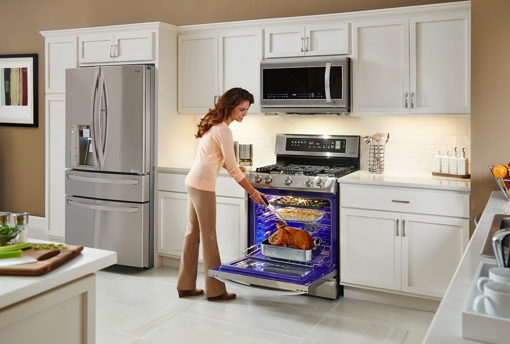 LG ProBake Convection Single Oven