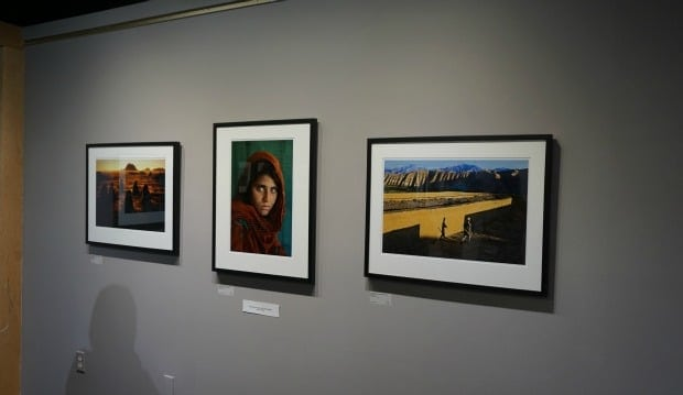 Pictura Gallery Steve McCurry exhibition Afghan Girl