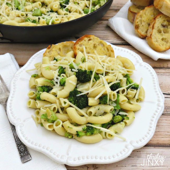 Broccoli Parmesan Green Macaroni