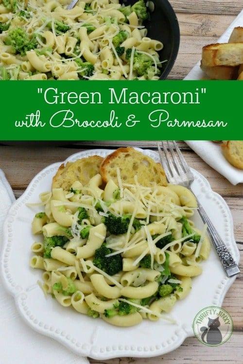 Broccoli Parmesan Macaroni Recipe