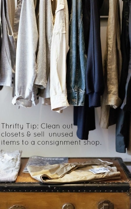 Consignment Shop Tip