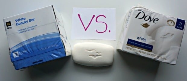 DG White Beauty Bar Soap