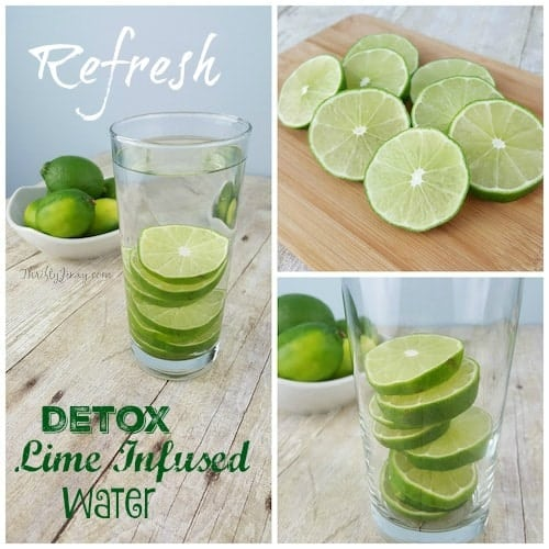 Detox Lime Infused Water Recipe