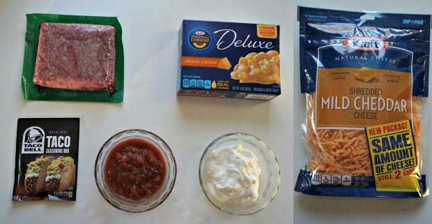 Easy Taco Bake Recipe Ingredients