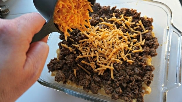 Easy Taco Bake Recipe Process