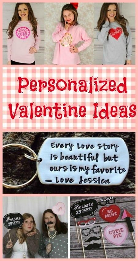 Personalized Valentine Ideas