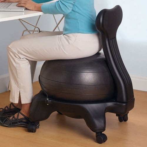 Using Balance Ball Chairs at Your Desk Gaiam