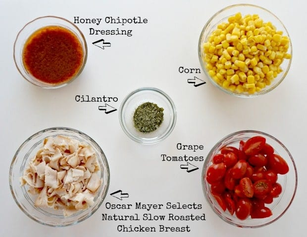Chipotle Chicken, Corn Tomato Salad Recipe Ingredients