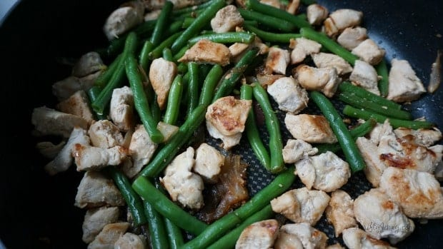 Honey Hoisin Green Bean Chicken Recipe Process