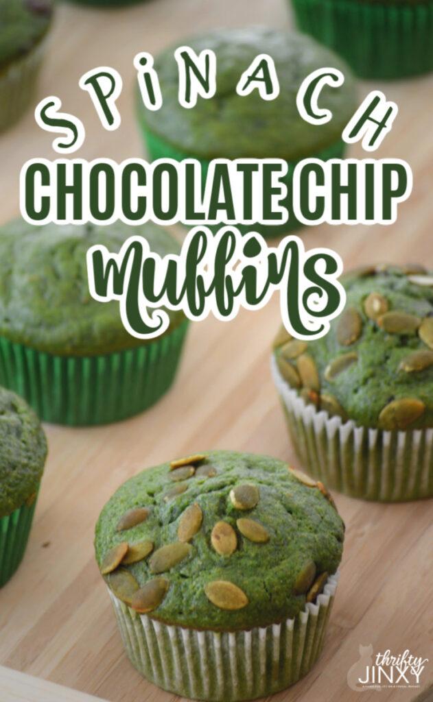 Spinach Chocolate Chip Muffin Recipe (1)