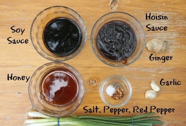 Honey Hoisin Green Bean Chicken Recipe Sauce Ingredients