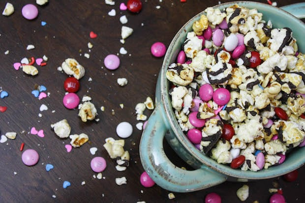 Valentines Day Popcorn Mix Recipe