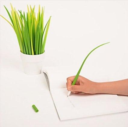Grass Blades Ballpoint Pens