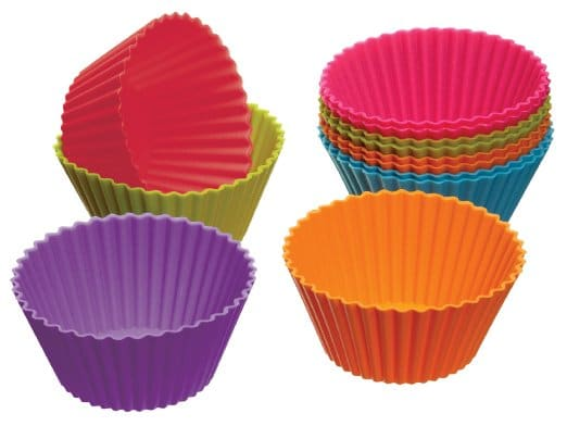 Enjoy Hours of Baking with Reusable Silicone Cupcake Wrappers