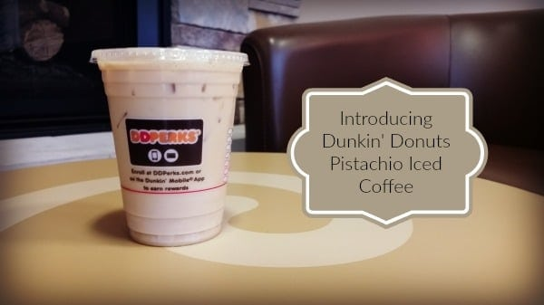 Dunkin Donuts Pistachio Iced Coffee Review