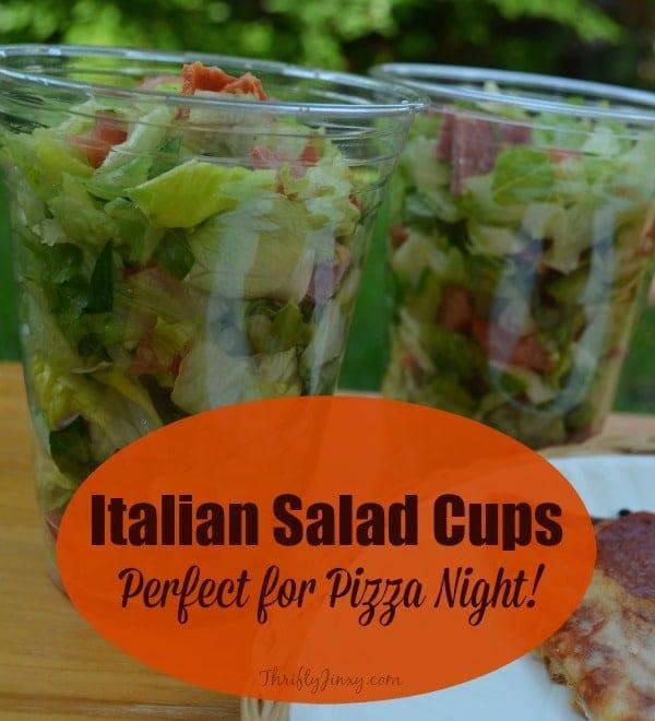 Italian Salad Cups Recipe