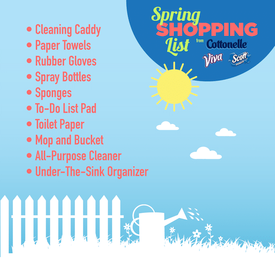K-C Spring Cleaning Shopping List (Facebook)_FINAL