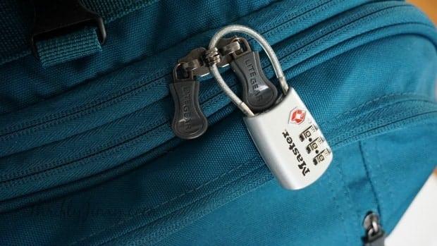MasterLock TSA Accepted Lock