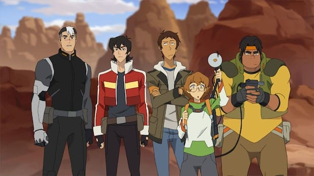 Voltron Legendary Defender Characters
