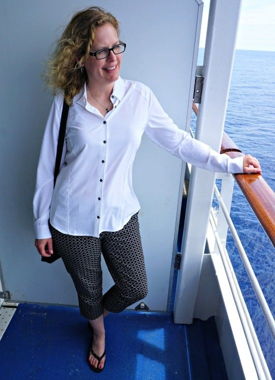 Florence Travel Blouse Orvis