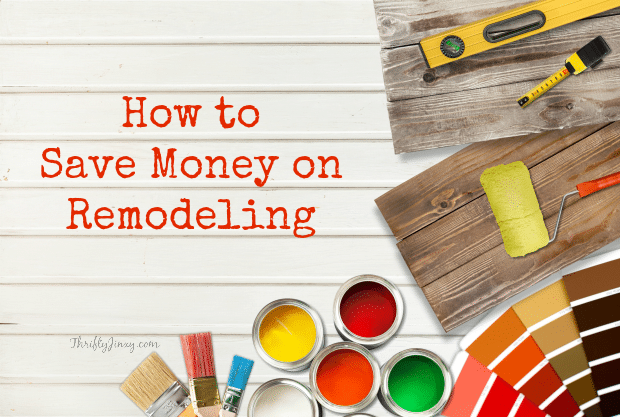 How to Save Money on Remodeling