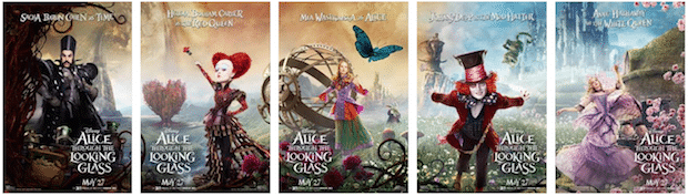 Alice Through the Looking Glass Character Posters.jpg