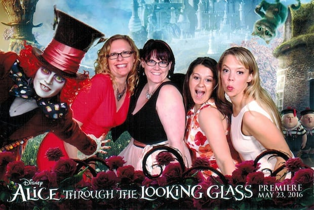 Alice Through the Looking Glass Premiere Party