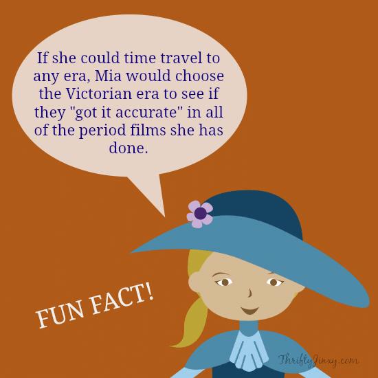 Mia Wasikowska Fun Fact