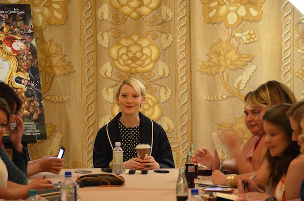 Mia Wasikowska interview 3