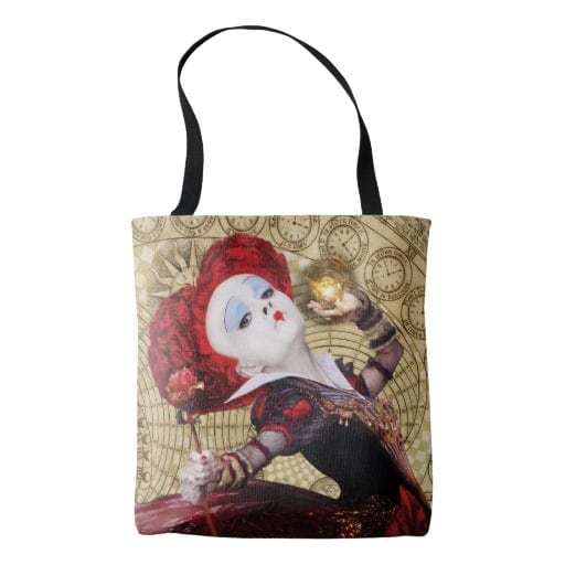 Red Queen Tote Bag Alice in Wonderland