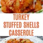 Turkey Stuffed Shells Recipe