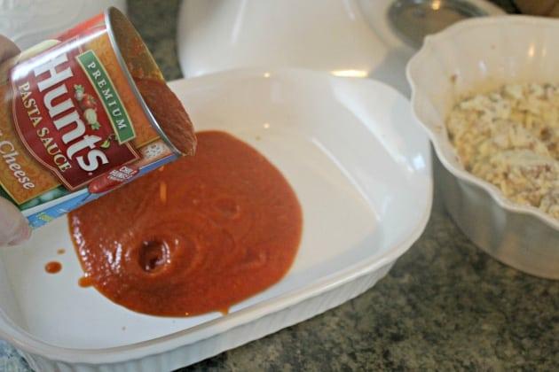 stuffed shells casserole pasta sauce