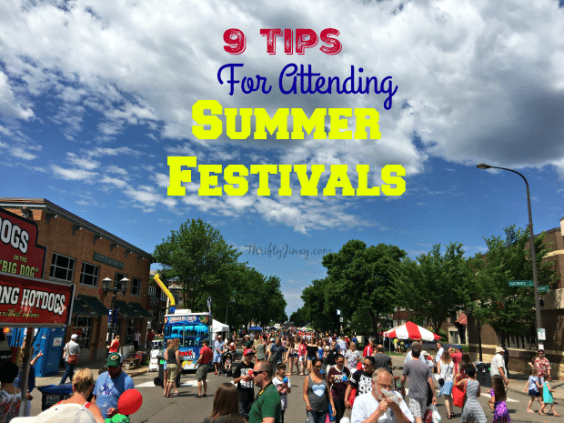 9 Tips for Attending Summer Festivals