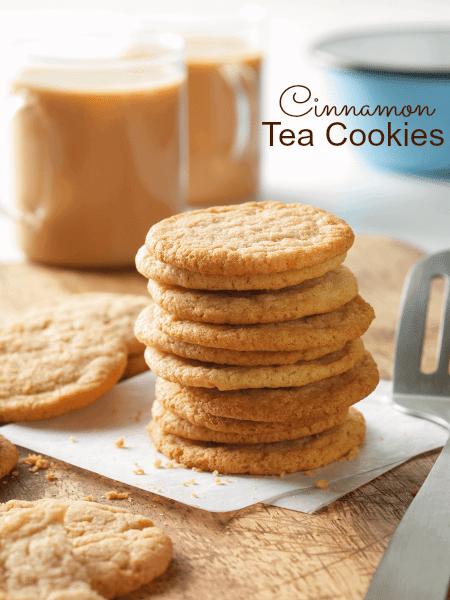Cinnamon Tea Cookies Recipe