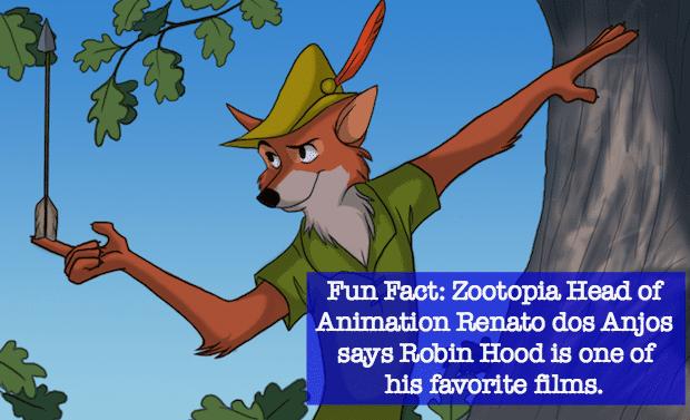 Disney Robin Hood Zootopia