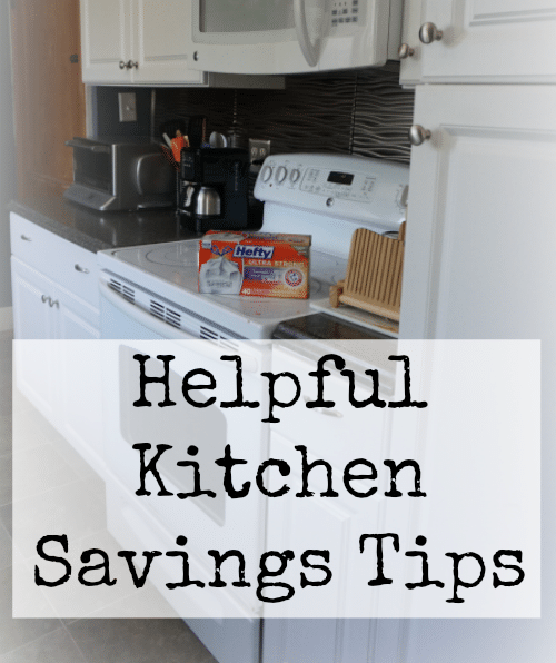 Helpful 5 Kitchen Savings Tips