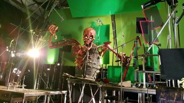 Kubo Two Strings Giant Skeleton Puppet FX