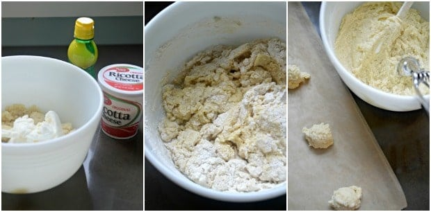 Lemon Ricotta Cookies Recipe Process