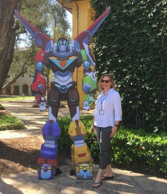 Voltron DreamWorks Studios Visit