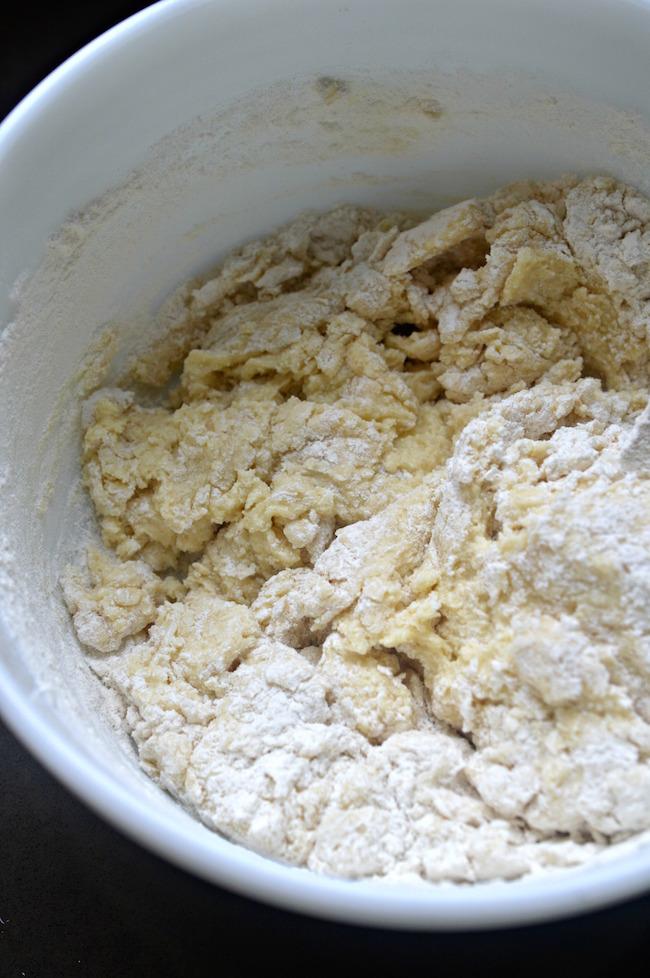 lemon ricotta cookies batter