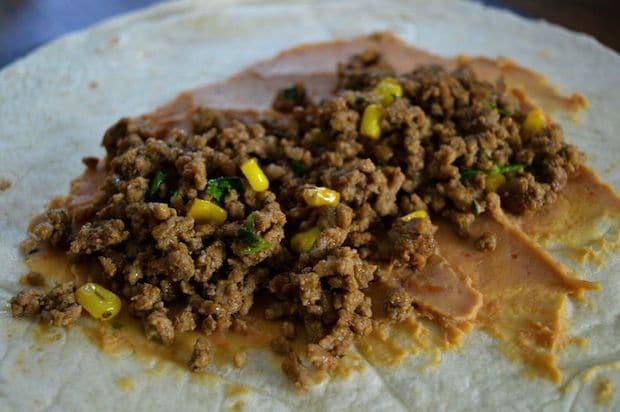 Easy Homemade Chimichanga Recipe Process