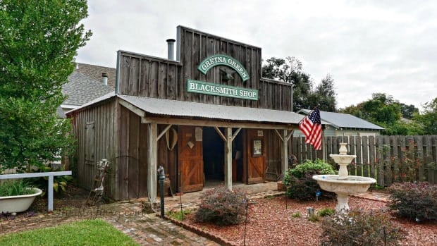 Gretna Green Blacksmith Shop LA