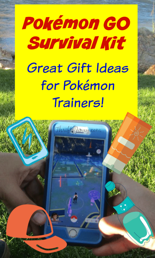 Pokemon GO Survival Kit – Great Gift Ideas for Pokemon Trainers